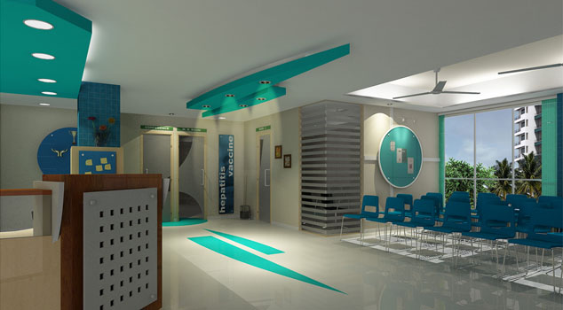 ACME Designers clinic project, Pune, Vindi clinic