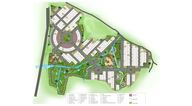 ACME Designers golf resorts master plan