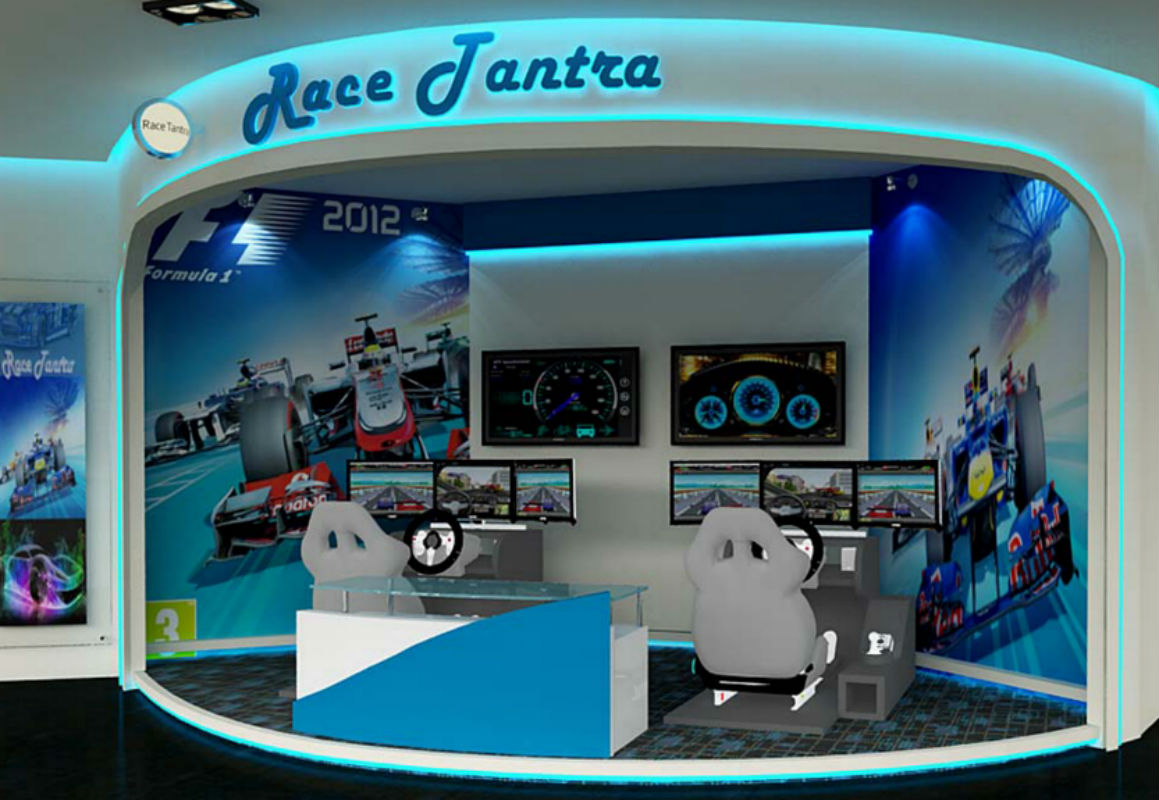Race tantra forum mall, Modern gaming theme