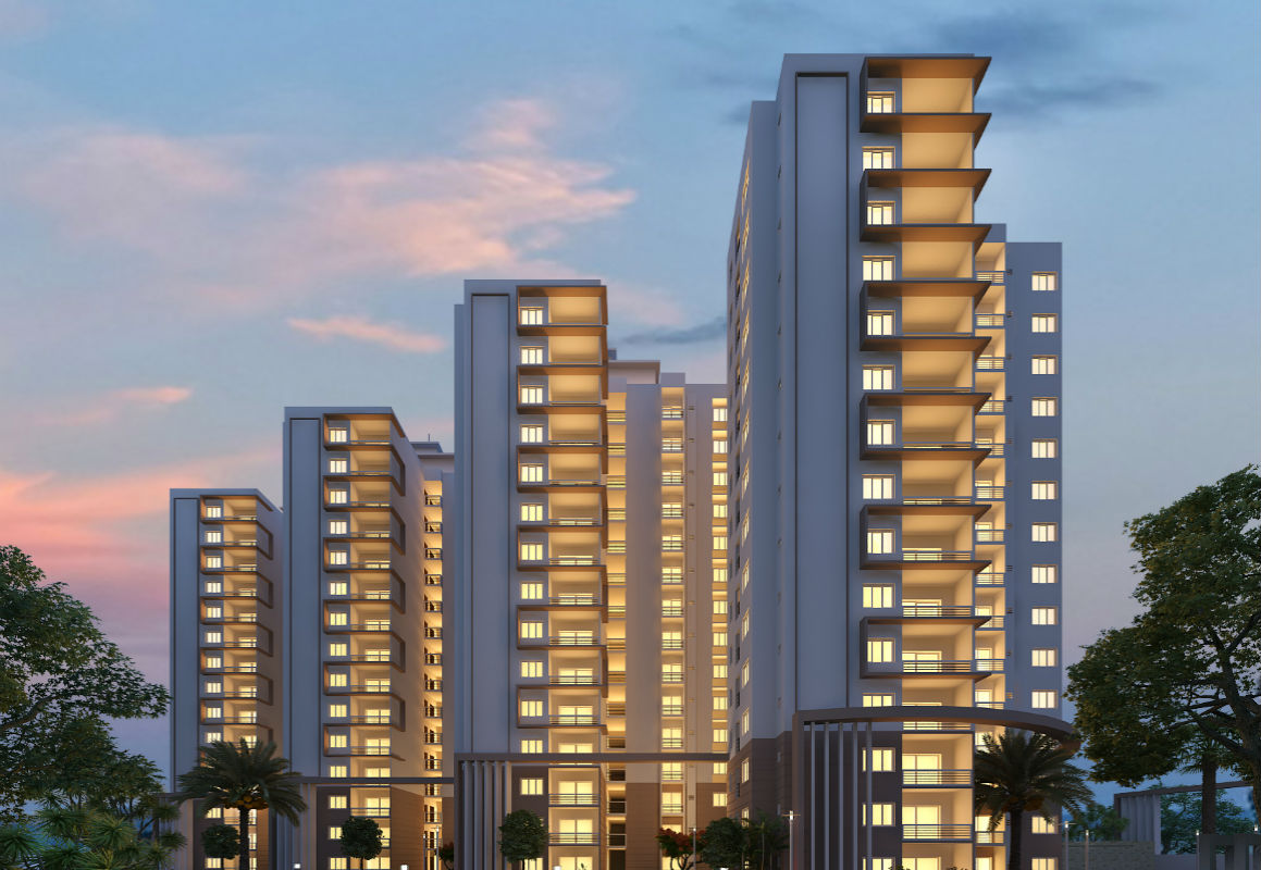 Definer Hilife, TC palya highrise apartment