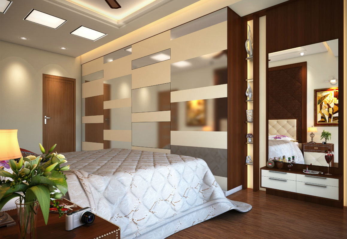 Sudhir doki master bed room view